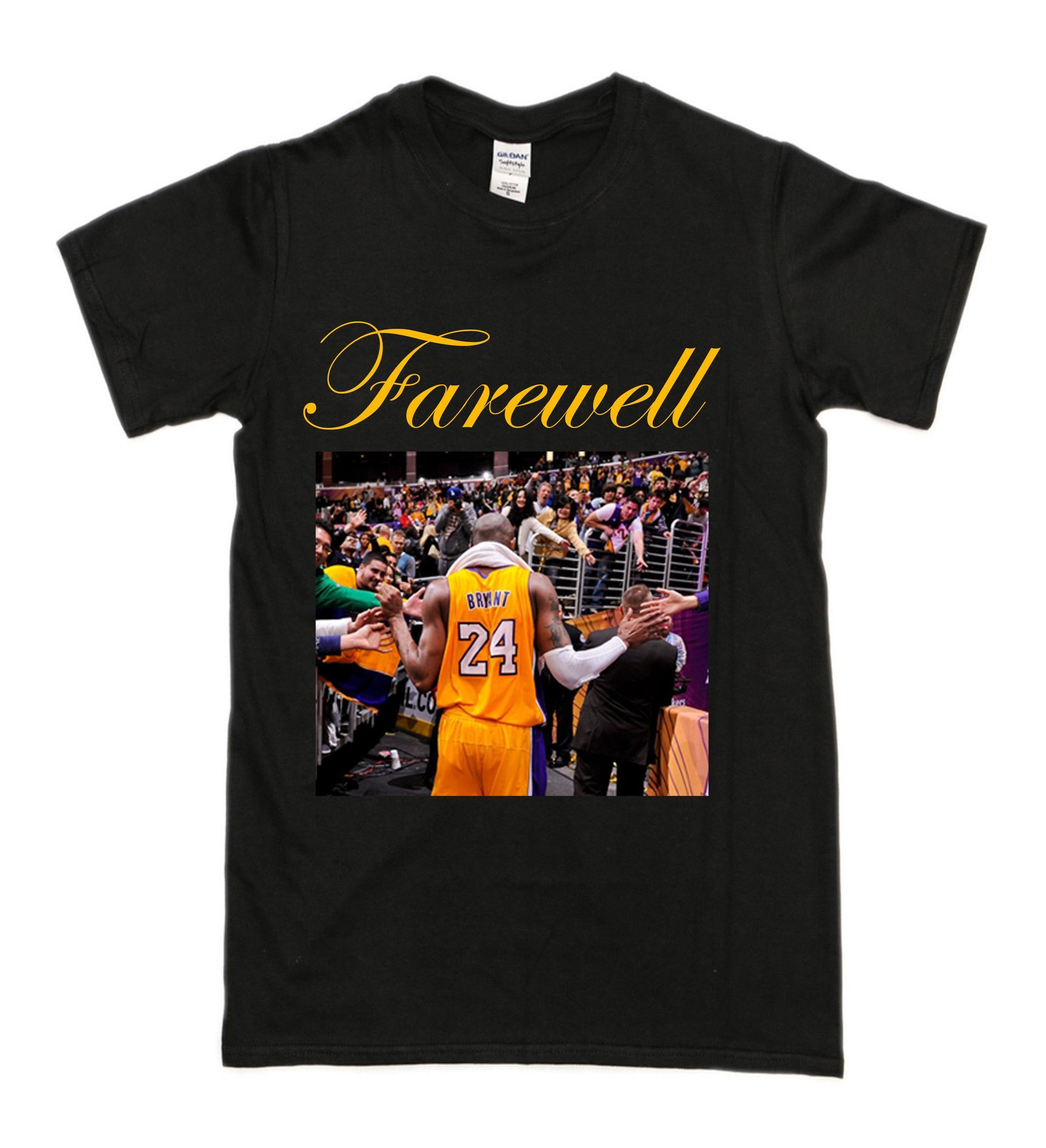Kobe Bryant Farewell T Shirt Bryant Basketball T Shirts For Women Kobe Bryant