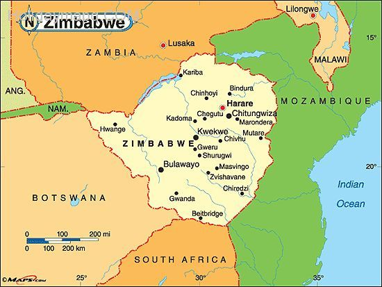 cool Map of zimbabwe Holidaymapq Pinterest Zimbabwe