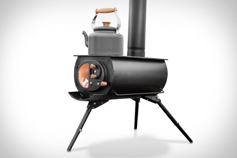 Cook and warm up from the comfort of your tent with the ...