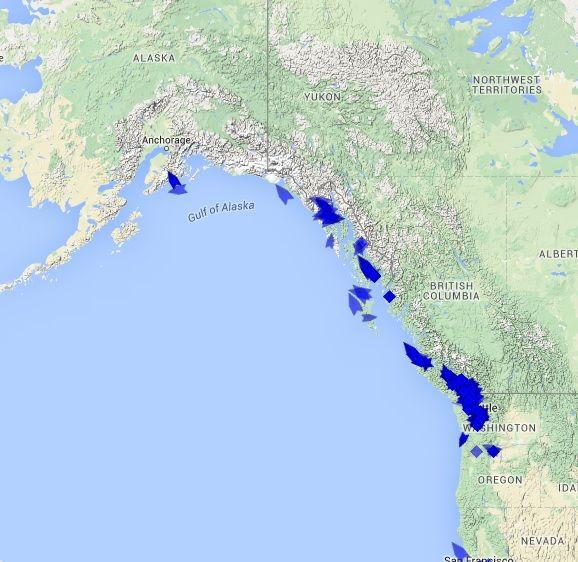 Alaska Cruise Ship Tracker tracks cruise ships in Anchorage Alaska
