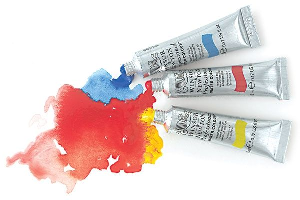 Winsor Newton Professional Watercolor Tubes The Artist