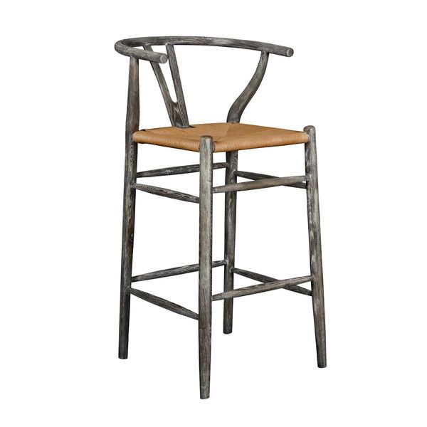 OSLO COUNTER HEIGHT STOOL - available in 2 colors, Grey, BARSTOOL, Bungalow 5, MAK Home  - 1