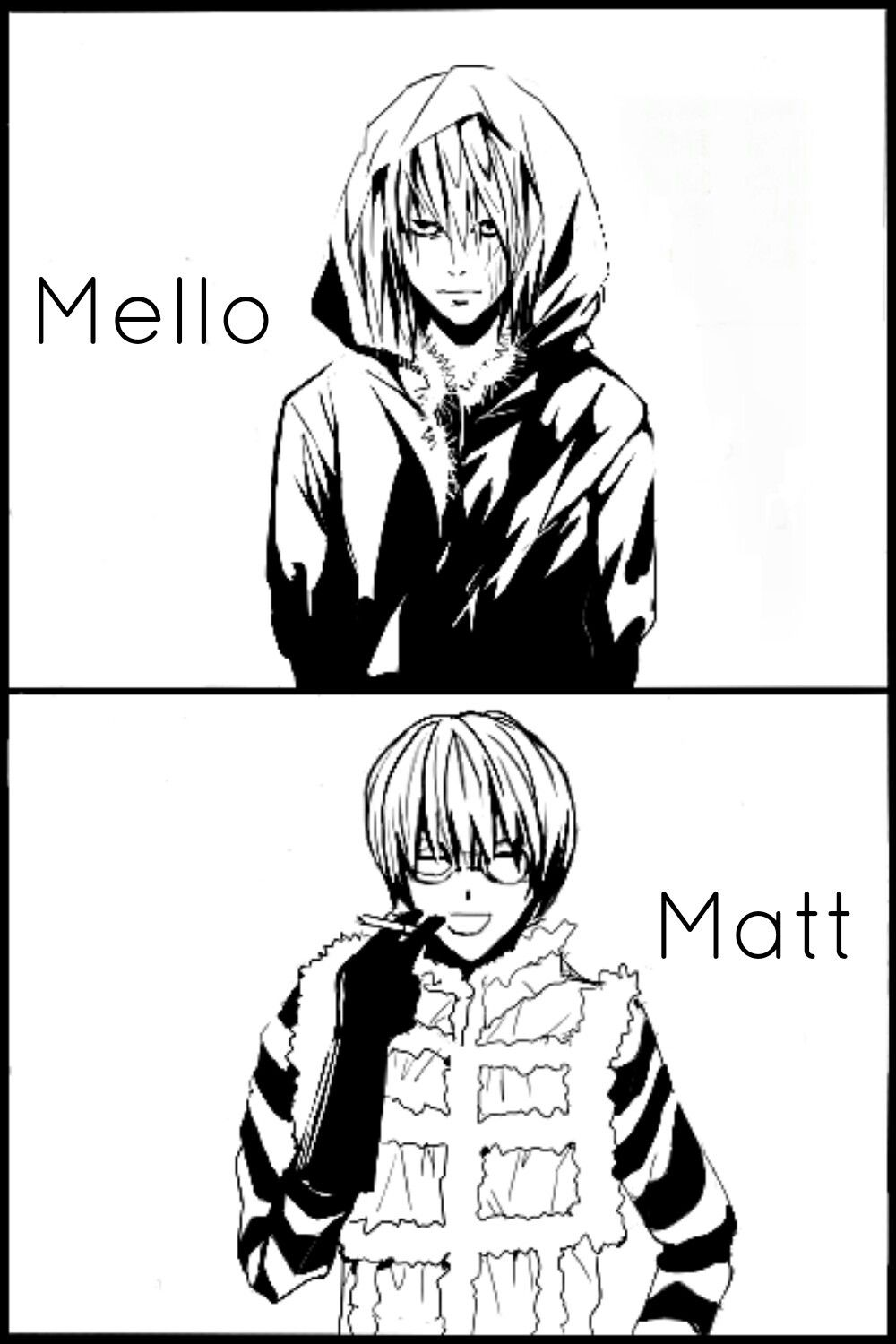 Matt and Mello Death note, Anime, Anime memes