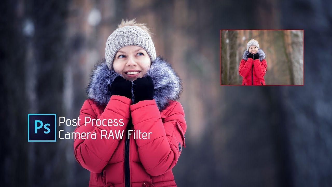 Photoshop tutorial camera raw filter how to edit winter photo photoshop tutorial camera raw filter how to edit winter photo baditri Gallery