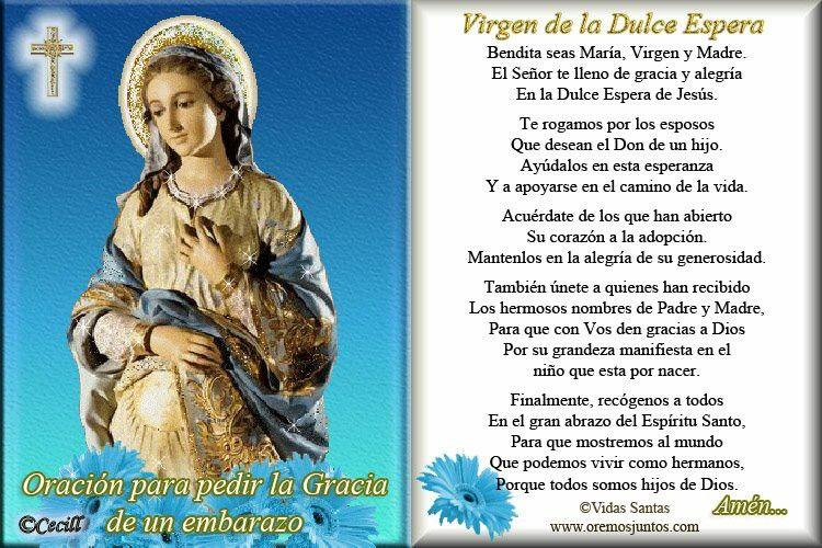 Oracion a la Virgen