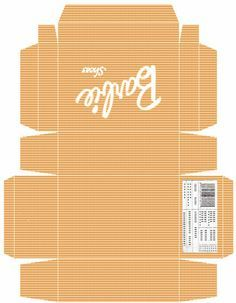 Image result for my froggy stuff pizza box printables | tiny ...