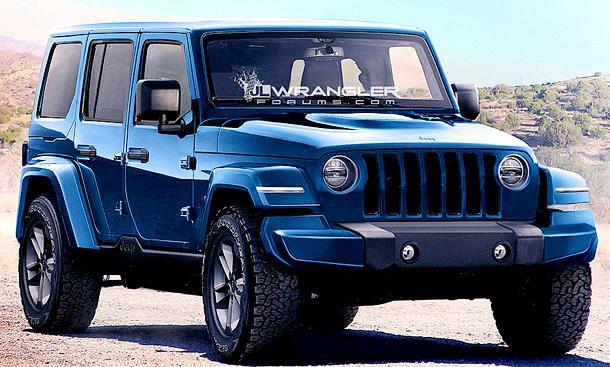 Jeep Wrangler 4 Generation