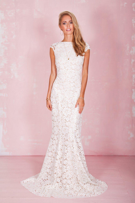 Increíble Vestido De Novia Michigan Cresta - Colección de Vestidos ...