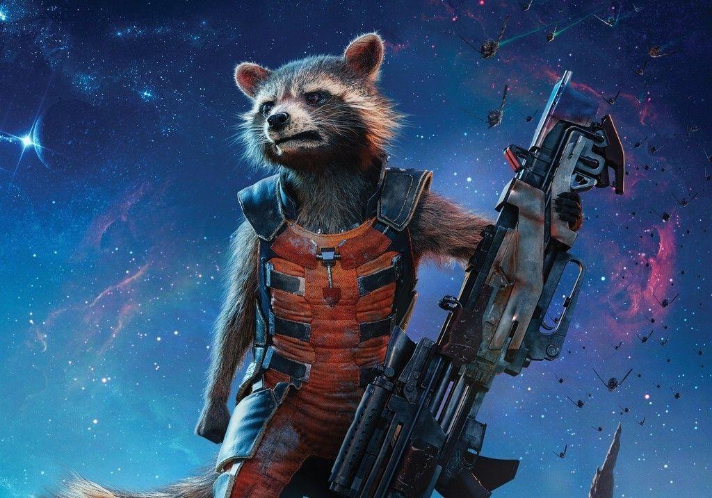 Rocket Raccoon Guardians Of The Galaxy 5k Wallpaper Marvel Comics Wallpaper Galaxy Wallpaper Guardians Of The Galaxy