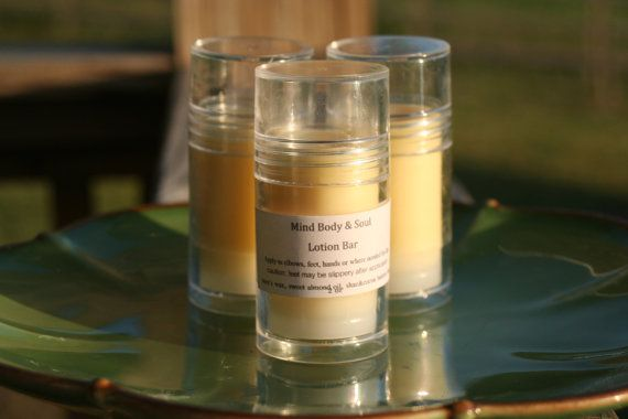 Solid Lotion Bar  Bare Foot Heel Helper The  by mindbodysoulsoaps, $6.95