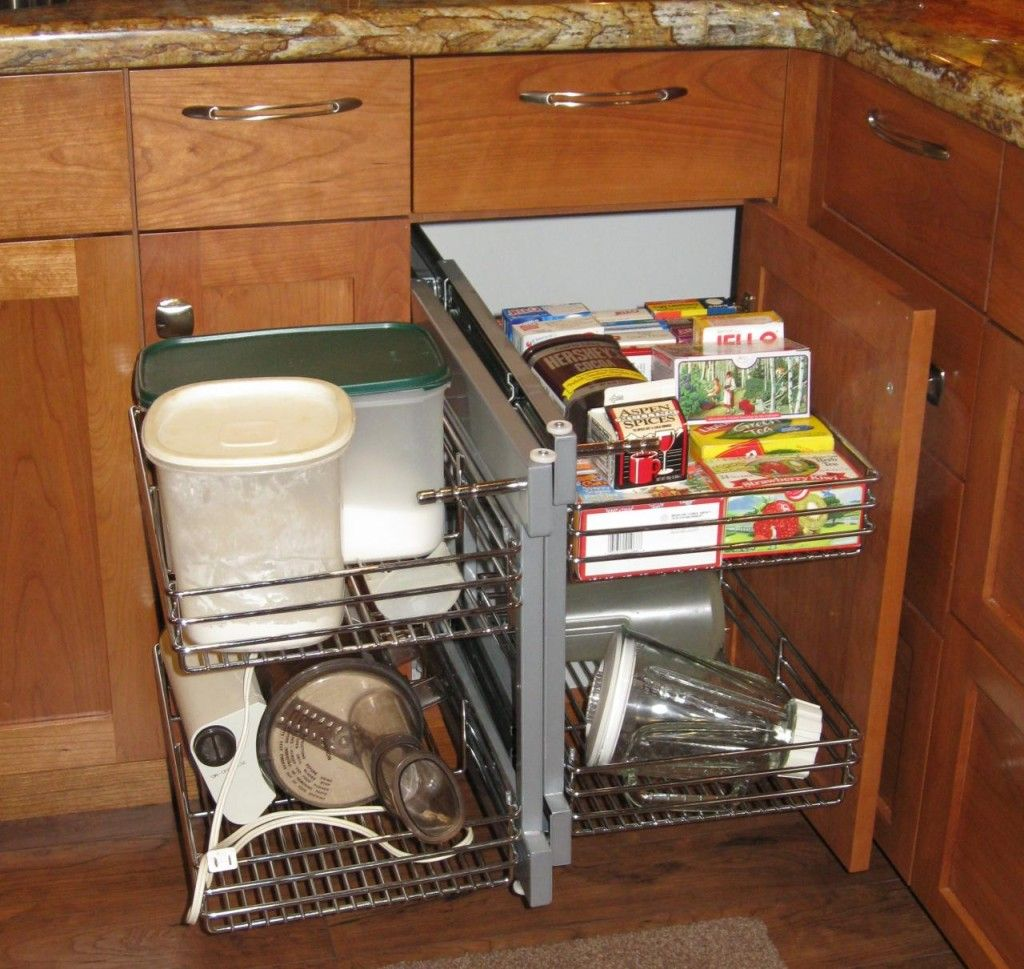 Fresh Kitchen Cabinet Storage Accessories