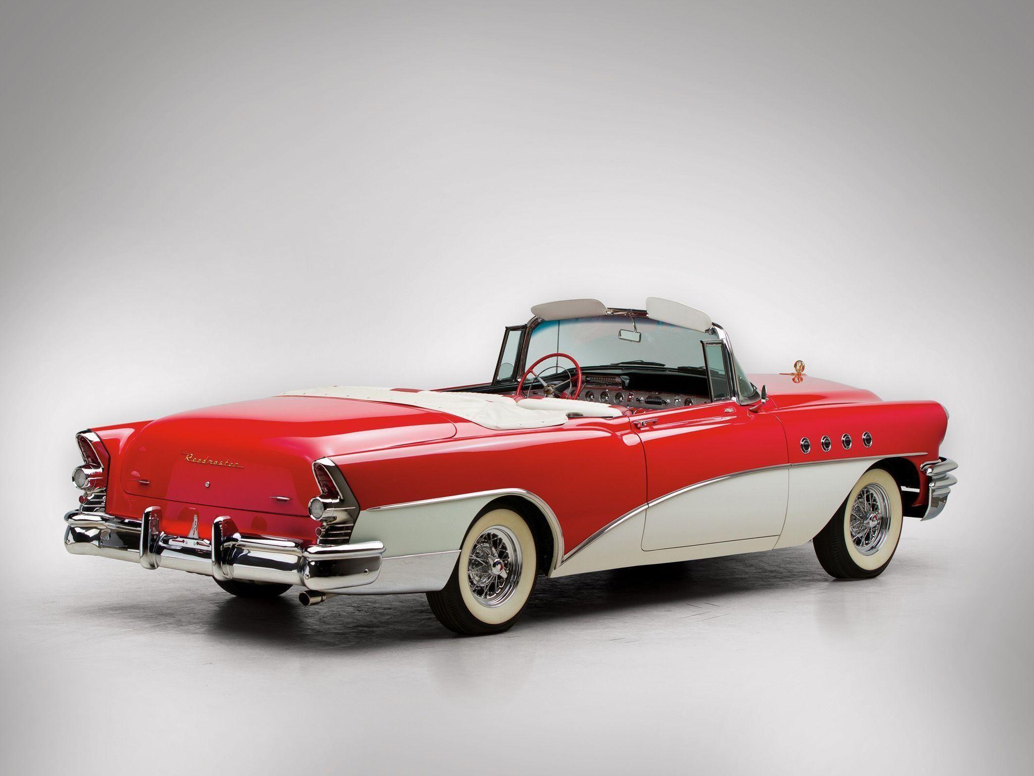 1955 Buick Roadmaster Convertible cars