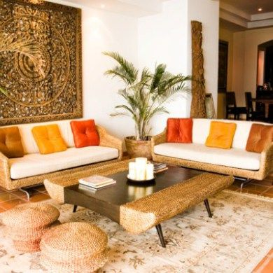 simple indian living room decor with traditional wall accessories