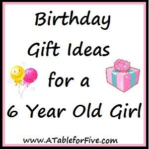 Top Ten Birthday Gifts For A 6 Year Old Girl Awesome Ideas Presents Any Time Of Even Christmas