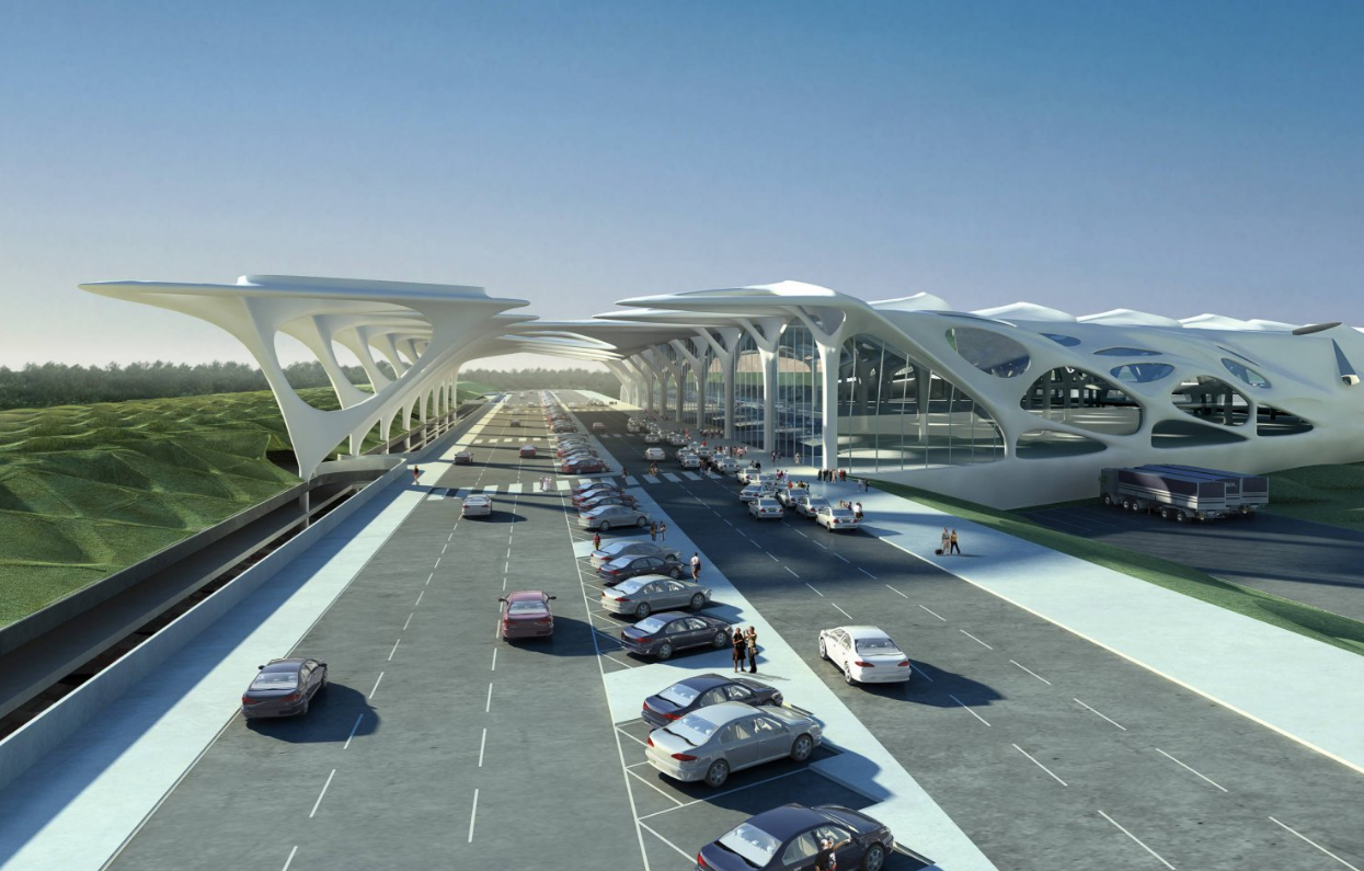 New Passenger Terminal For Zagreb Airport Zaha Hadid Architects Zaha Hadid Architects Zaha Hadid Architecture Zaha Hadid