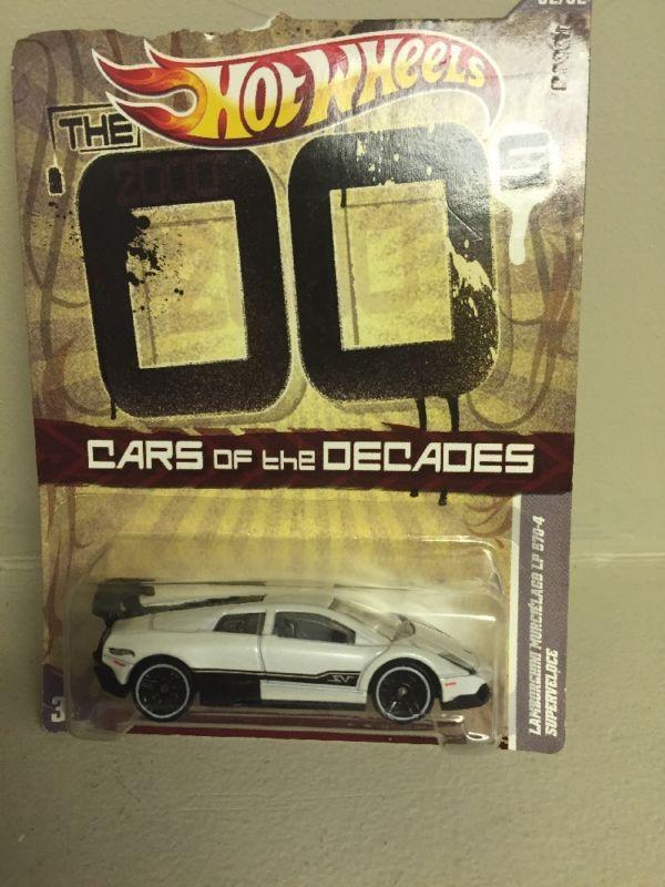 Hot Wheels Cars Of The Decades The 00s Lamborghini Murcielago Lp