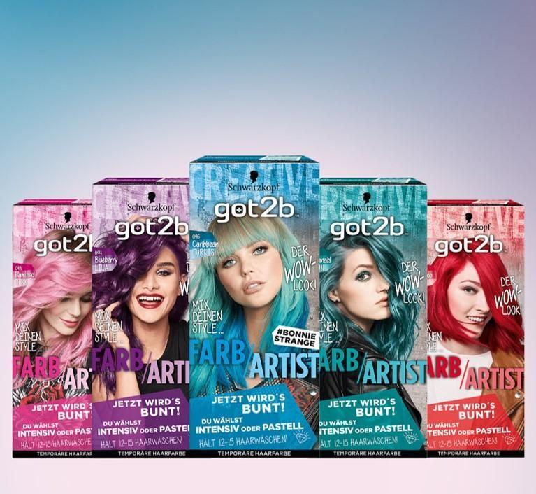 Got2b bunte haarfarben