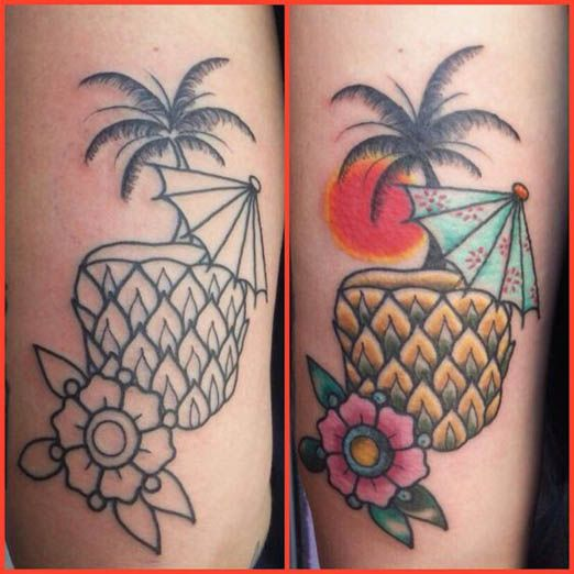 The following gallery of tattoos is perfect for all of you for Small cocktail tattoos