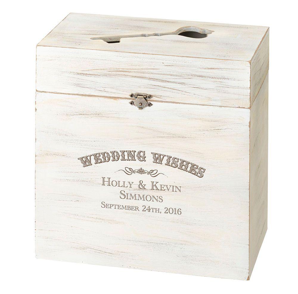 Wooden Key Box Alternative Wedding Guest Book Or Card Box