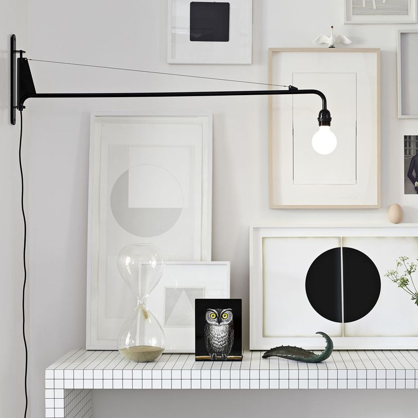 Petite Potence By Jean Prouve For Vitra In 2020 Wall Lamp Simple Lighting Wall Lights
