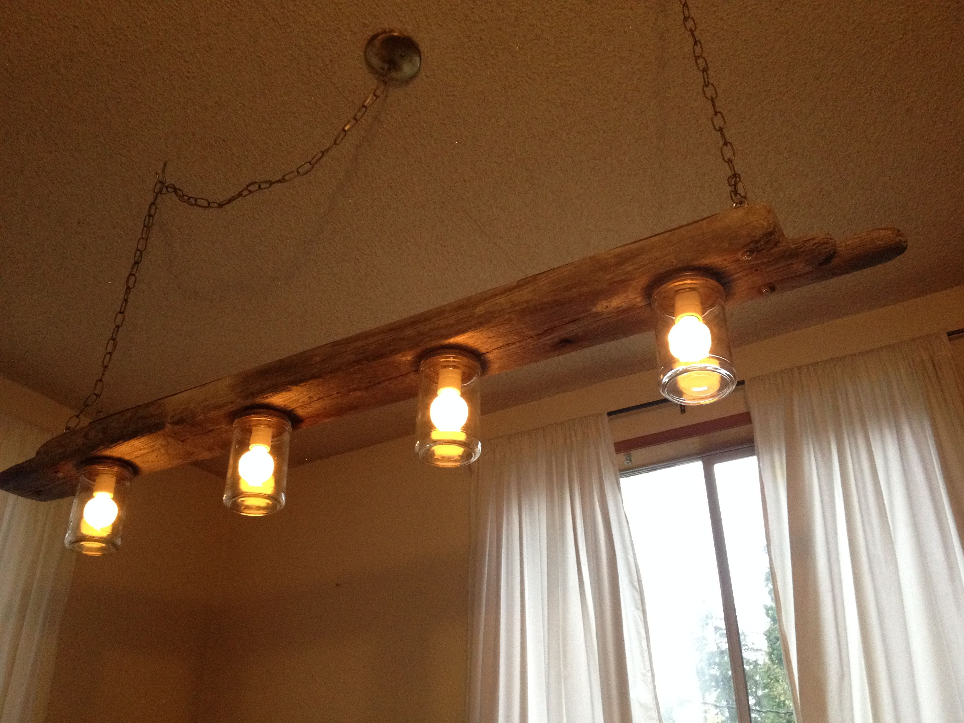 Mason Jar Bathroom Lights Diy