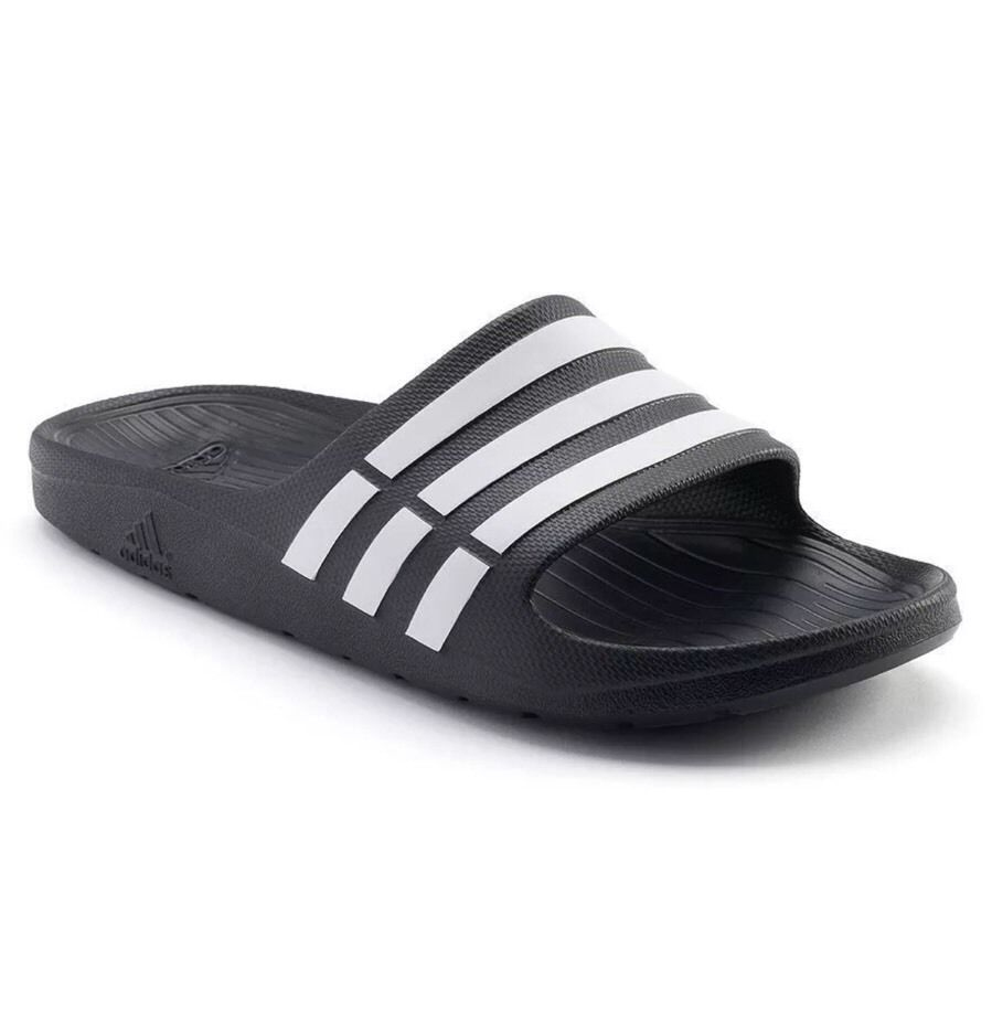 689e771d4 Adidas Men DURAMO Slide Slippers Sandals Shoes Blue G15890 (size10 ...