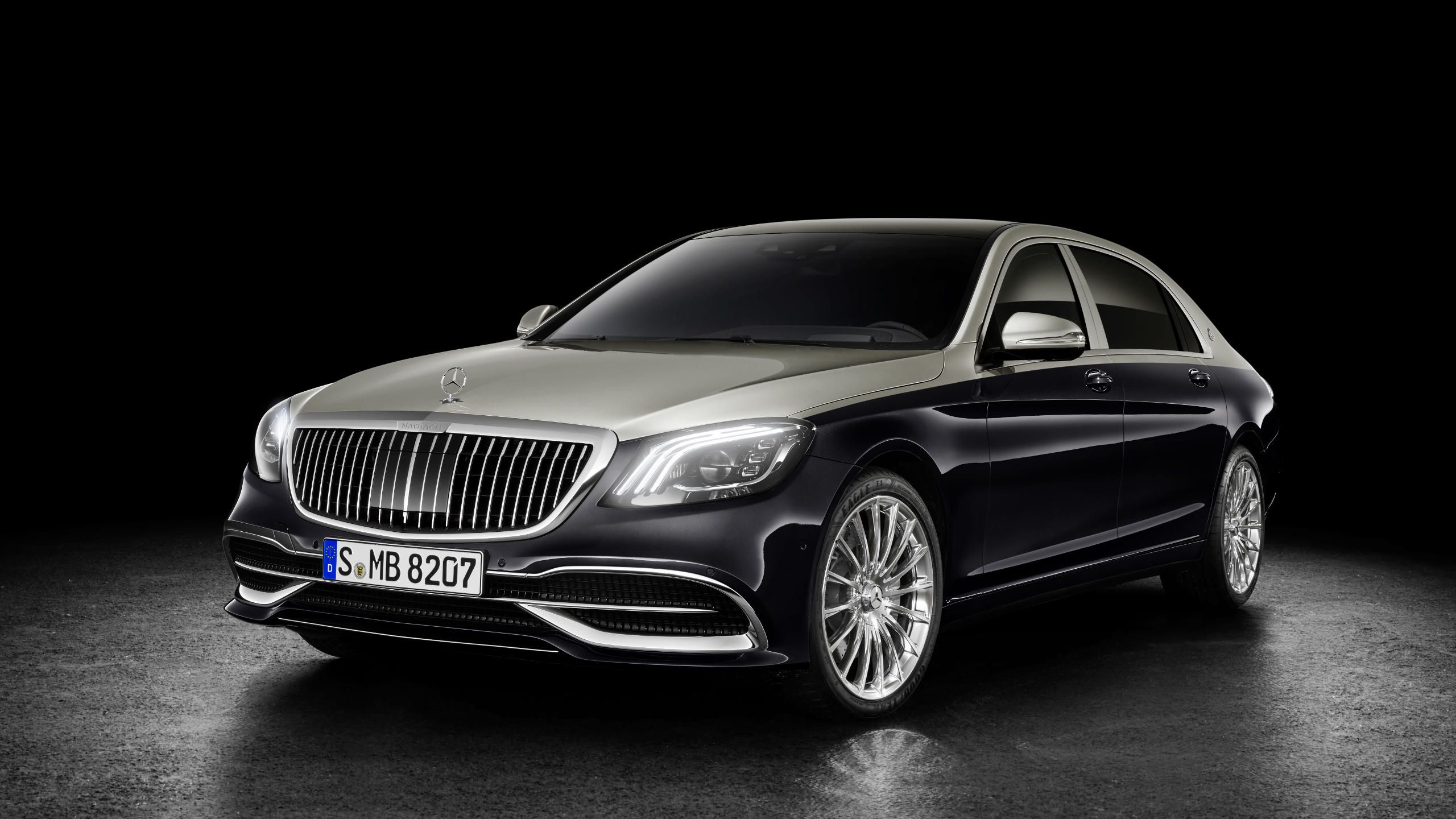 The Mercedes Maybach S Class in a new look Super Cars