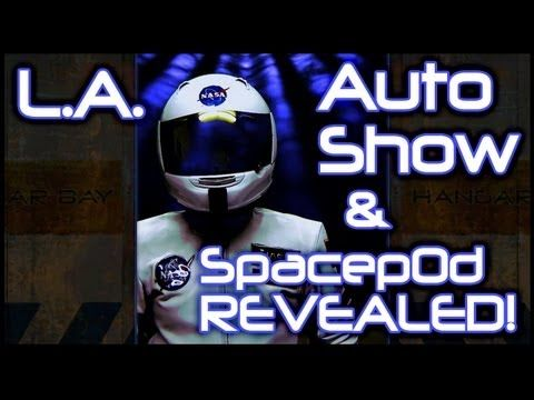 ▶ LA Auto Show and Spacepod Reveal! - YouTube