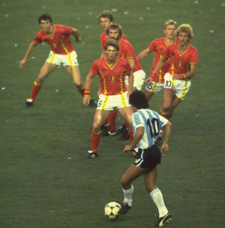 The Joy Of Six Iconic Sports Photos Barry Glendenning Football Photography Diego Maradona World Football