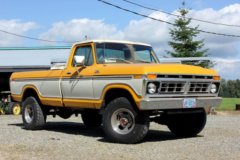1977 Ford F250 Highboy With Built 429 Ford Trucks Classic Ford