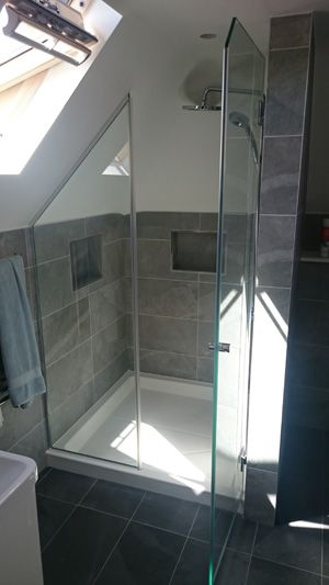 Image Result For Shower In The Eaves Bathroom Design Small