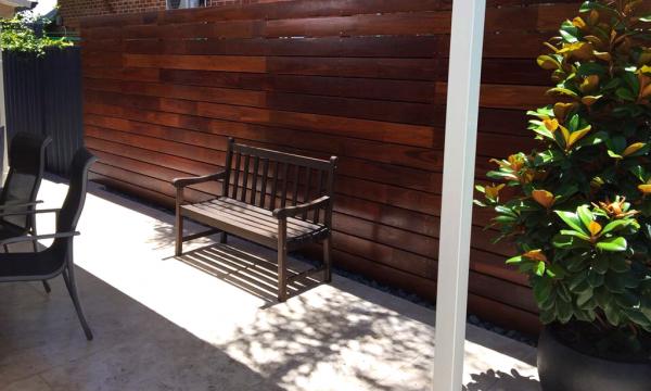 Timber Deck Backyard