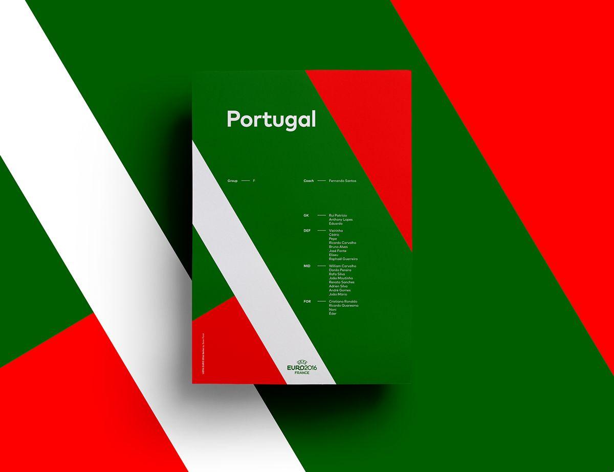 UEFA EURO 2016 Poster Series | Abduzeedo Design Inspiration