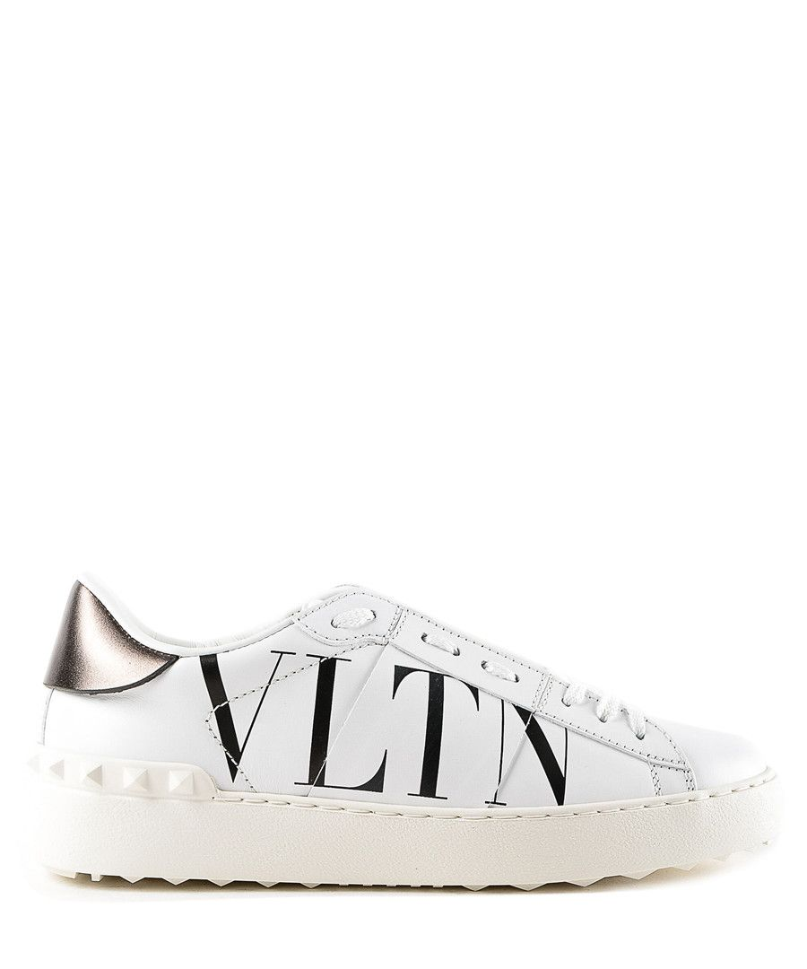 detailed look pre order release date: White leather VLTN low top trainers Sale - valentino in 2019 ...