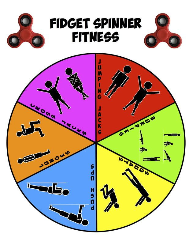 Fid Spinner Fitness PE Activities & Games Pinterest