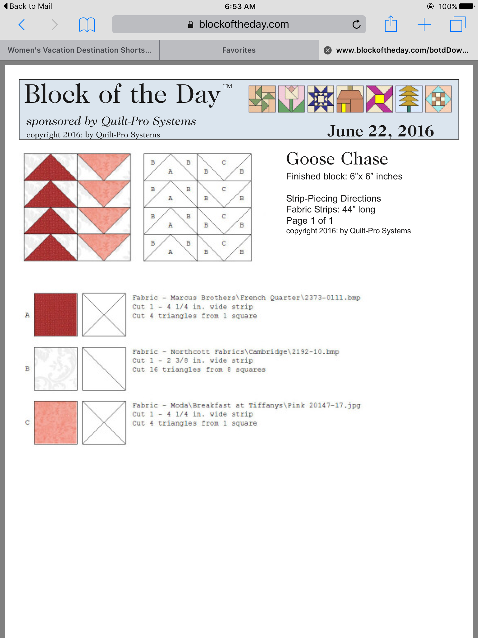 Goose Chase block Quilt Block Patterns many tutorials
