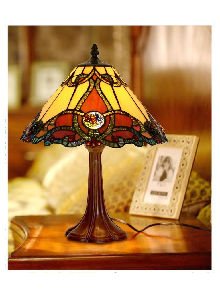 Bedside Lamp Joanne Tiffany Lamp Bedside Lamp Tiffany Style Lamp