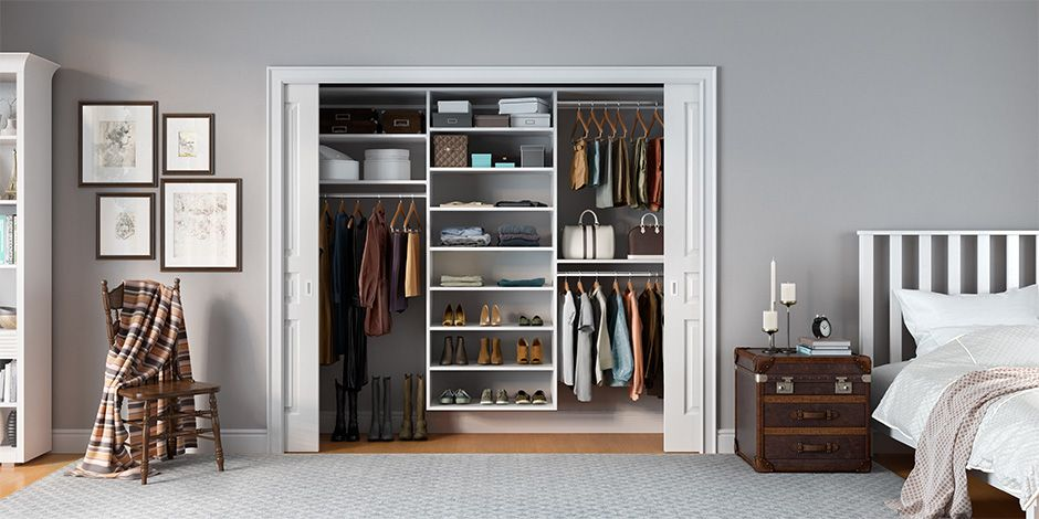 Closet Systems Amp Custom Design Solutions Sliding Closet