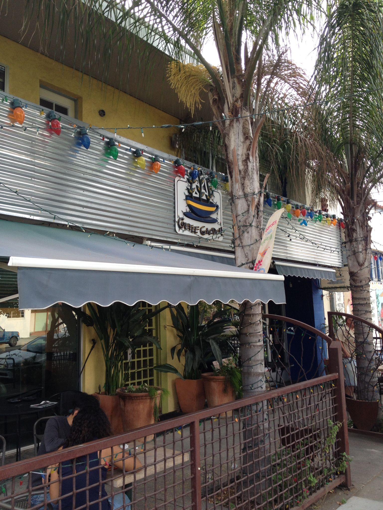 The Coffee Garden on Franklin Blvd. just kitty corner from