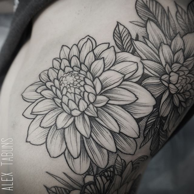 dahlia | tattoos | tattoos, dahlia tattoo, flower tattoos