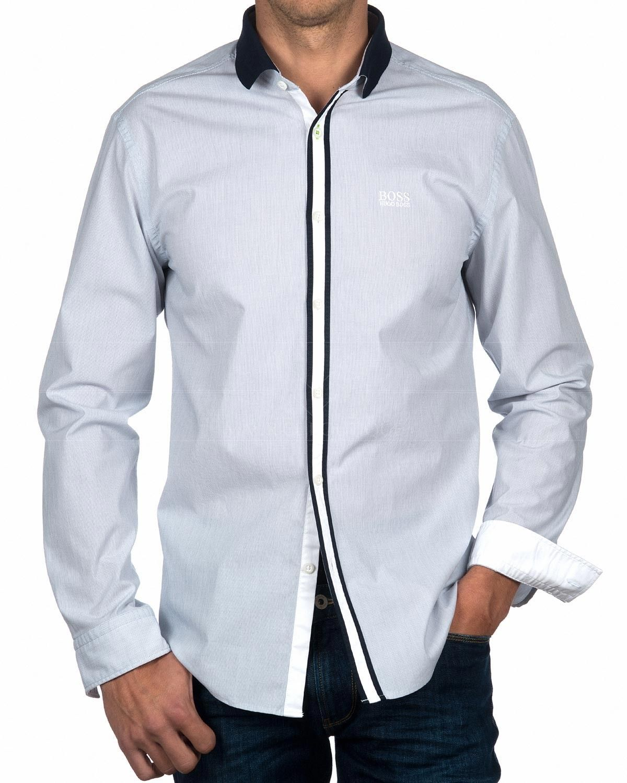 9d8ec296b7 Camisas HUGO BOSS ® Azul Marino ✶ Botas
