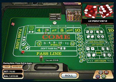 Online Casino Games Craps