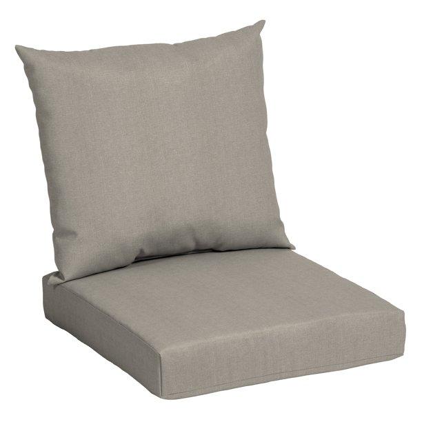 Mainstays Teal 45 X 22 75 In Outdoor Patio Deep Seat Cushion Set Walmart Com In 2020 Deep Seat Cushions Deep Seating Outdoor Deep Seat Cushions