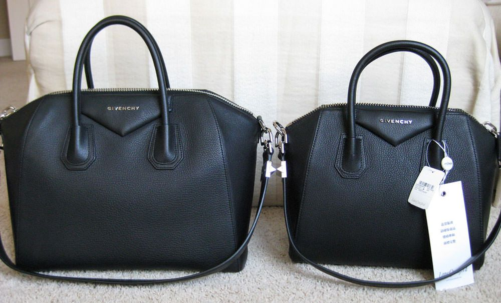 43cc956d0b Givenchy Antigona (small vs medium)