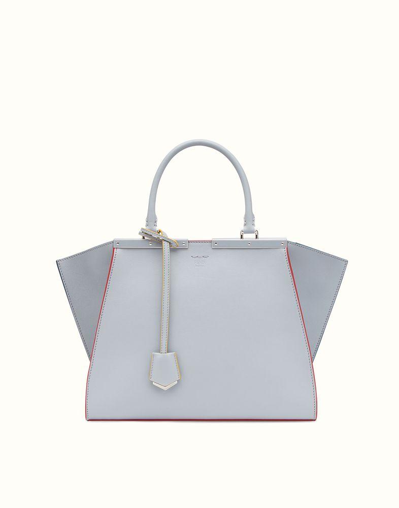FENDI 3JOURS - slate-gray leather tote bag  e1bd830517271