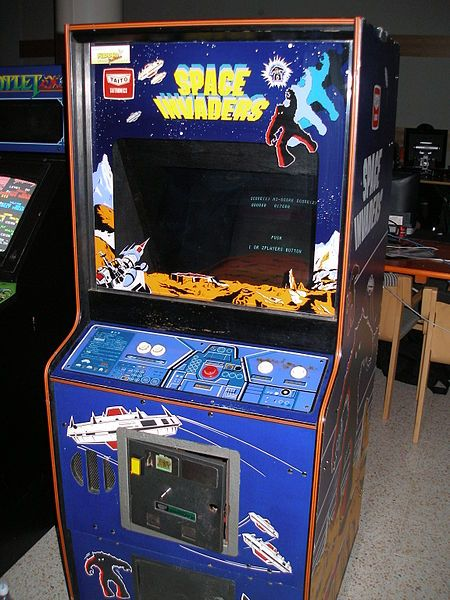 Who remembers this classic #vintage arcade game? Space invaders
