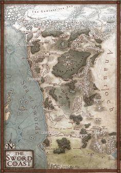 La C´te des Epées mapas