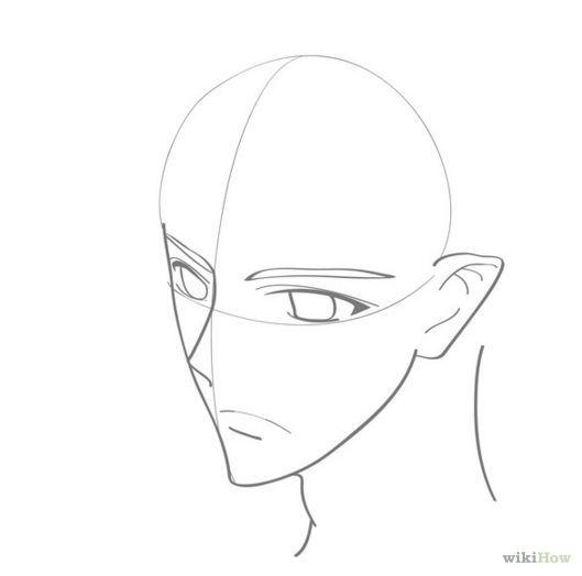 Képtalálat a következőre how to draw a boy face easy