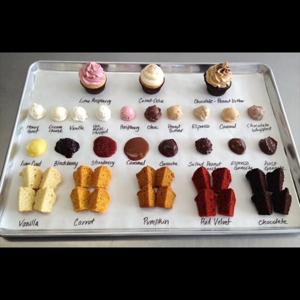 Wedding Cupcake Flavor Ideas: Cake Life Bake Shop - Philadelphia/Delaware