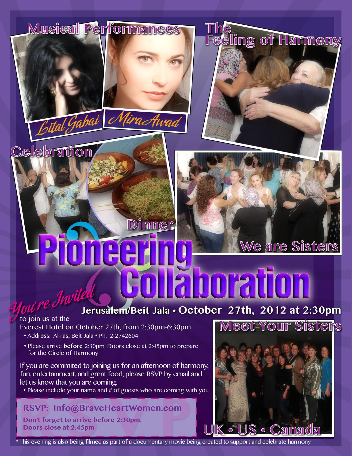 BRAVEHEART WOMEN!!! Supportive, Collaboration, Jala
